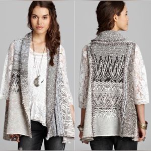 FREE PEOPLE - In Your Arms Cardi Sweater Vest